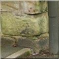 SK4633 : Bench mark, Risley Lane, Breaston by Alan Murray-Rust