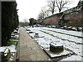 SJ4066 : Roman Garden and City Wall, Chester by Jeff Buck