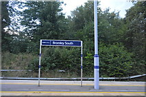 TQ4068 : Bromley South Station by N Chadwick