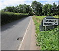 SO8004 : Northern boundary of Stanley Downton, Gloucestershire by Jaggery