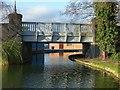 SK4832 : Tamworth Road canal bridge on the Erewash Canal by Alan Murray-Rust