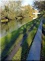 SK4832 : Erewash Canal alongside Tamworth Road by Alan Murray-Rust
