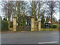 SK4733 : Entrance to West Park, Long Eaton by Alan Murray-Rust