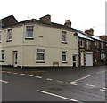 SO3014 : Junction of Ross Road and Lower Monk Street, Abergavenny  by Jaggery