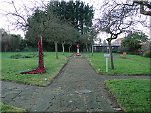 TF6103 : WW2 Memorial Garden at Downham Market by Adrian S Pye