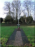 TF6303 : Downham Market R.A.F. station memorial by Adrian S Pye