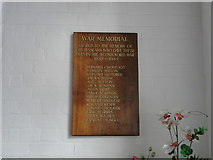 TM1180 : Diss Secondary School Second World War Memorial by Adrian S Pye