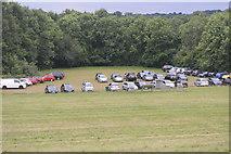 TQ3328 : Car park, Ardingley Reservoir by N Chadwick