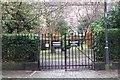 NT2574 : Private garden, Drummond Place Edinburgh New Town by Jim Barton