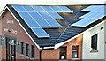 J3972 : Solar panels, Gilnahirk, Belfast (January 2018) by Albert Bridge