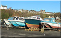NW9954 : Boats on the Quayside by Billy McCrorie
