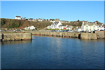 NW9954 : Entrance to the Inner Harbour, Portpatrick by Billy McCrorie