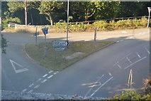 SX3657 : B3249 / Quay Rd junction by N Chadwick