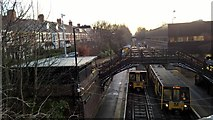 NZ2567 : South Gosforth Metro station and Control Centre by Chris Morgan