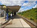 SJ9794 : Hattersley Station by Gerald England