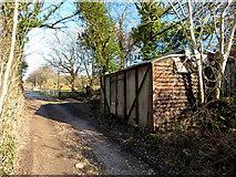SS9883 : Former railway wagon in Brynna by Gareth James