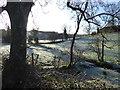 H4569 : A frosty scene, Lissan by Kenneth  Allen