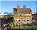 TL2149 : Potton: the former railway station by John Sutton