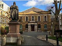 TQ3282 : Wesley's Chapel, City Road by John H Darch