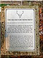 NH4954 : Plaque by The Mackenzie Monument by valenta