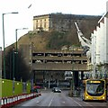 SK5639 : A new view of Nottingham Castle by Alan Murray-Rust