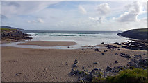 V3968 : Beach at St Finan's Bay, The Glen by Phil Champion