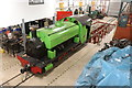 NY7146 : South Tynedale railway workshop by Chris Allen