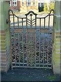 SK4933 : Gateway at the former Long Eaton School, Tamworth Road by Alan Murray-Rust