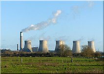 SK4731 : View towards Ratcliffe Power Station by Alan Murray-Rust