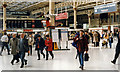 TQ2879 : Victoria (Central) Station concourse, 1995 by Ben Brooksbank