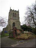 SP2160 : Church of St James The Great Snitterfield by Roy Hughes