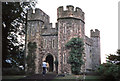 SS9943 : The Great Gatehouse at Dunster Castle by Jeff Buck
