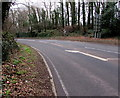 ST5090 : Bend in the A48 towards Chepstow by Jaggery