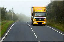 H3023 : HGV on the A509 by David Dixon