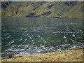 SH7112 : Ice on Llyn Cau by Nigel Brown