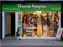 SU7682 : Thames Hospice Charity Shop, 27 Duke Street, Henley on Thames by Roger A Smith