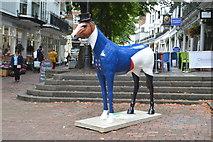 TQ5838 : Horse, The Pantiles by N Chadwick