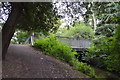 TQ2667 : Footbridge, River Wandle by N Chadwick