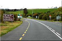 G9478 : Northbound N15 approaching the Junction with the N56 near Donegal by David Dixon