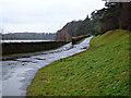 NS5675 : Road at Mugdock Reservoir by Thomas Nugent