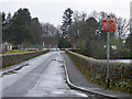 NS5675 : Road at Milngavie reservoirs by Thomas Nugent