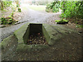 SE0938 : Dry cistern on the St Ives Estate by Stephen Craven