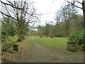 SE0938 : Picnic area on the St Ives Estate by Stephen Craven