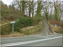 SE1039 : East end of Altar Lane, Harden Road, Bingley by Stephen Craven