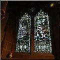 SE1039 : All Saints, Bingley - war memorial window by Stephen Craven