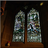 SE1039 : All Saints, Bingley - war memorial window by Stephen Craven
