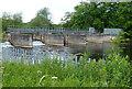 SK3934 : Sluice along the River Derwent by Mat Fascione