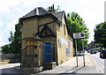 SE1534 : Lodge building, #306 Manningham Lane by Roger Templeman