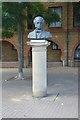 TQ3679 : Bust of James Walker by N Chadwick