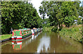 SJ9033 : Trent and Mersey Canal at Stone, Staffordshire by Roger  Kidd